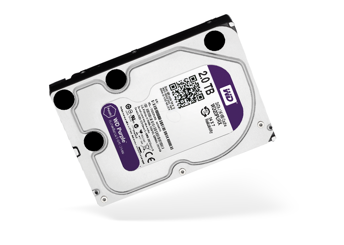 Hard Disk WD Purple per NVR DVR