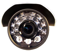 telecamera con led super flux IR
